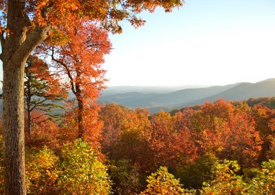 Autumn at The Quarters at Keowee Mountain