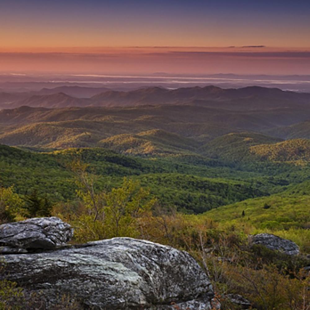 Keowee Mountain - Blue Ridge Mountain View
